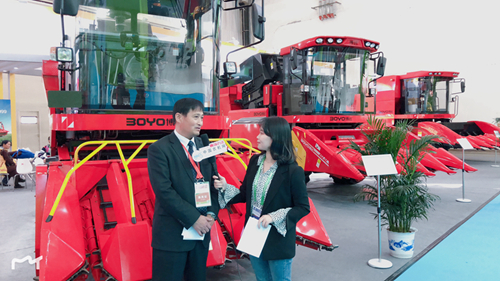 2018中国国际农机展:中农博远刷新起点 再创玉米机收新纪元